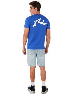 AMPARO BLUE MENS CLOTHING RUSTY TEES - TTM1612ABL