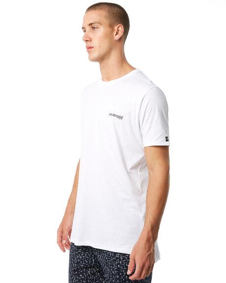WHITE MENS CLOTHING ZANEROBE TEES - 107-PREWHT