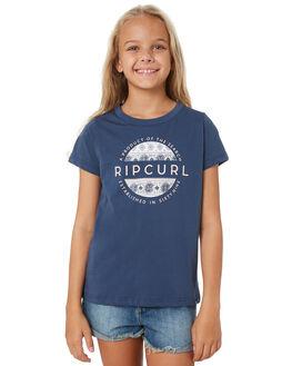 BLUE KIDS GIRLS RIP CURL TOPS - JTEEE10070