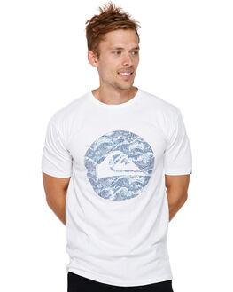 WHITE MENS CLOTHING QUIKSILVER TEES - EQYZT05110WBB0