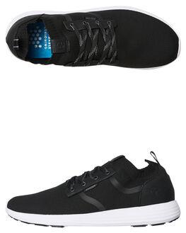BLACK MENS FOOTWEAR KUSTOM SNEAKERS - 4984101BLK