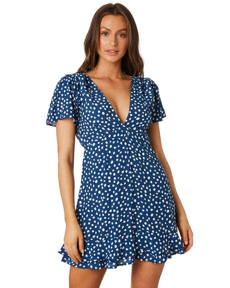 PEBBLES NAVY WOMENS CLOTHING RUE STIIC DRESSES - RWS-19-48-1PBLNV