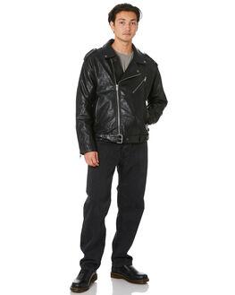 BLACK MENS CLOTHING SILENT THEORY JACKETS - 4053055BLK
