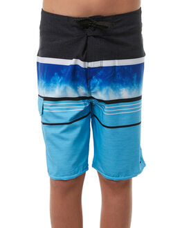 BLUE KIDS BOYS RIP CURL BOARDSHORTS - KBOPE10070