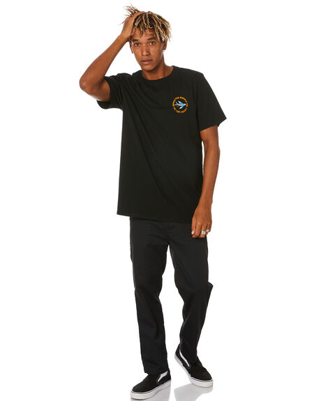 BLACK MENS CLOTHING DEPACTUS TEES - D5204007BLACK