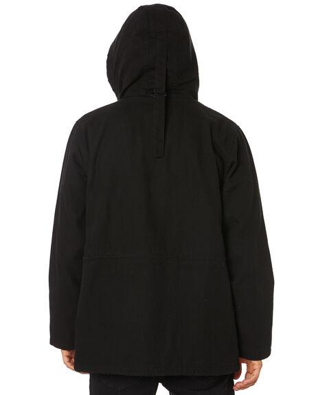 BLACK MENS CLOTHING RUSTY JACKETS - JKM0426BLK
