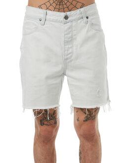 INDIGO BLEACH MENS CLOTHING WRANGLER SHORTS - W-901077-BH3INBLE