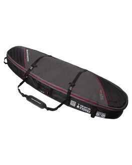 BLACK RED BOARDSPORTS SURF OCEAN AND EARTH BOARDCOVERS - SCSB06BLKRE