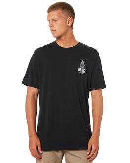 BLACK OUTLET MENS VOLCOM TEES - A5011873BLK