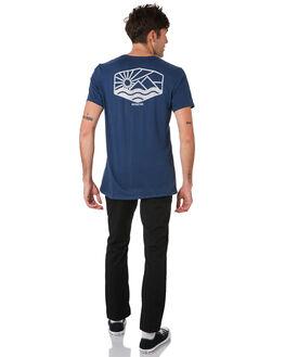NAVY BLUE MENS CLOTHING DEPACTUS TEES - D5184006NVBLU