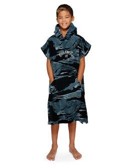 BLACK CAMO KIDS BOYS BILLABONG TOWELS - BB-8791705-BP4