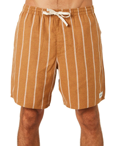 ALMOND MENS CLOTHING RHYTHM BOARDSHORTS - NOV18M-SS05-ALM