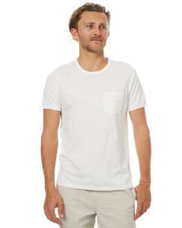 CHALK WHITE MENS CLOTHING OUTERKNOWN TEES - 1210010CWH