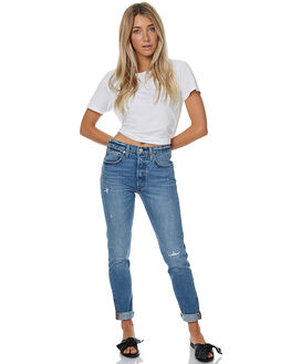 MODERN BLUES WOMENS CLOTHING LEVI'S JEANS - 29502-0013MDBLU