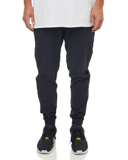 BLACK MENS CLOTHING HURLEY PANTS - 895062010