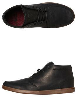 0386e3da9bb BLACK GUM MENS FOOTWEAR REEF BOOTS - 3422BLKG