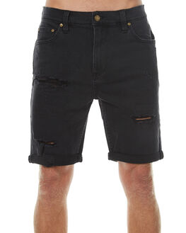 BON BLACK DESTROY MENS CLOTHING ROLLAS SHORTS - 150762973