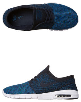 INDUSTRIAL BLUE MENS FOOTWEAR NIKE SNEAKERS - SS631303-444M
