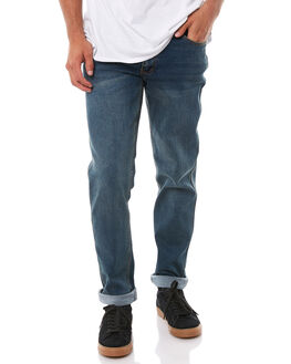 GRANITE INDIGO MENS CLOTHING GLOBE JEANS - GB01736006GRIND