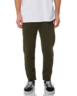 OLIVE CANVAS HEATHER MENS CLOTHING HURLEY PANTS - AJ2223394