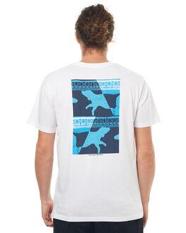 WHITE MENS CLOTHING POLAR SKATE CO. TEES - MWDTEE1WHT