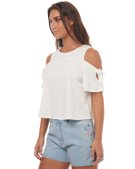 WHITE OUTLET WOMENS SWELL FASHION TOPS - S8171166WHITE