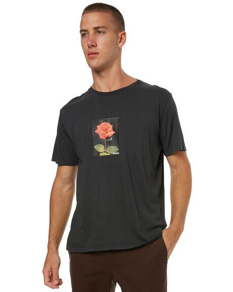 FADED BLACK MENS CLOTHING AFENDS TEES - 01-01-324FBLK