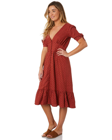 TERRACOTTA WOMENS CLOTHING THE HIDDEN WAY DRESSES - H8184452TERRA