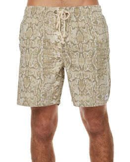 ALBINO MENS CLOTHING AFENDS BOARDSHORTS - 09-04-127ALB