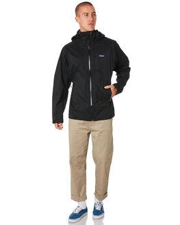 BLACK MENS CLOTHING PATAGONIA JACKETS - 84801BLK