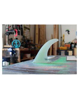 CLEAR BOARDSPORTS SURF CAPTAIN FIN CO. FINS - CFF0511505CLR