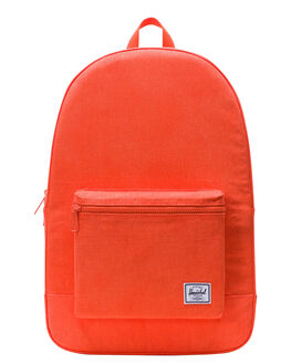 VERMILLION ORANGE MENS ACCESSORIES HERSCHEL SUPPLY CO BAGS + BACKPACKS - 10076-02341-OSORA