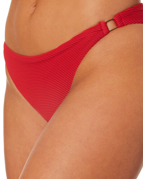 RED OUTLET WOMENS NINE ISLANDS BIKINI BOTTOMS - M8182348RED