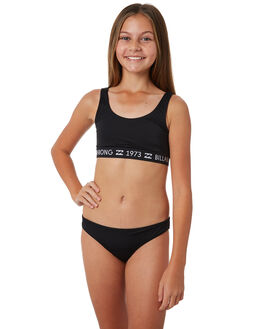 BLACK PEBBLE KIDS GIRLS BILLABONG SWIMWEAR - 5581551BLKPB
