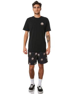 BLACK MENS CLOTHING VOLCOM BOARDSHORTS - A2541904BLK