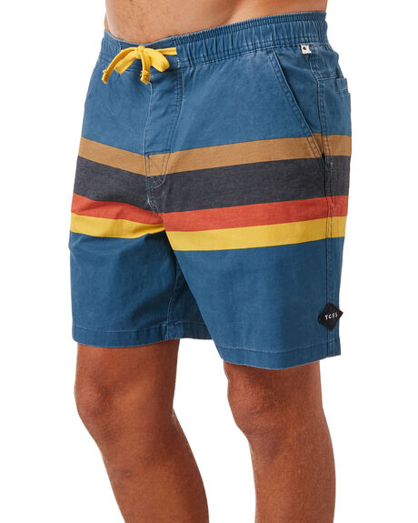 BLUE STEEL OUTLET MENS THE CRITICAL SLIDE SOCIETY BOARDSHORTS - BS1841BLSTE