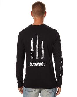BLACK MENS CLOTHING ALTAMONT TEES - 3130002327001