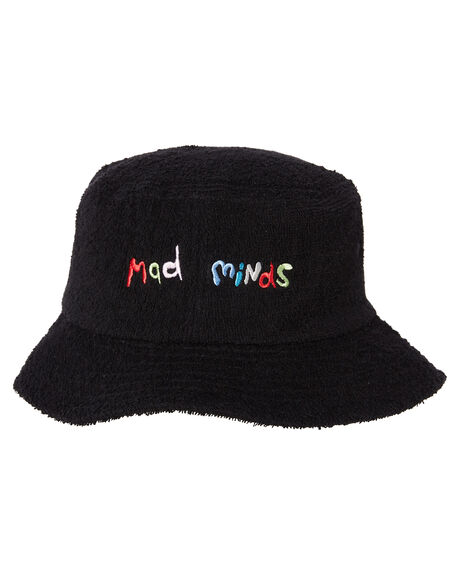 BLACK MENS ACCESSORIES MISFIT HEADWEAR - MT702007BLK