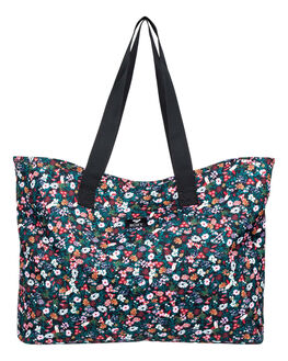 ANTHRACITE BOUQUET WOMENS ACCESSORIES ROXY BAGS + BACKPACKS - ERJBT03153-KVJ8