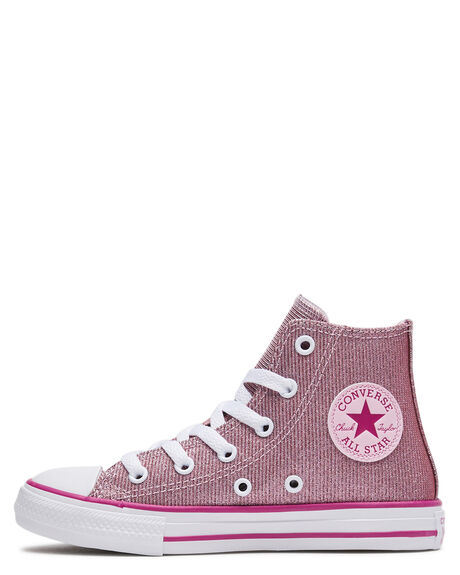 LIGHT ROUGE KIDS GIRLS CONVERSE SNEAKERS - 668471CLRGE