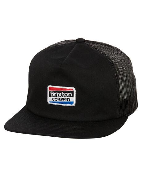 BLACK MENS ACCESSORIES BRIXTON HEADWEAR - 00877BLK