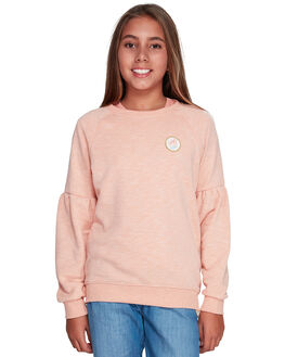 SALMON KIDS GIRLS ROXY JUMPERS + JACKETS - ERGFT03359-MFG0