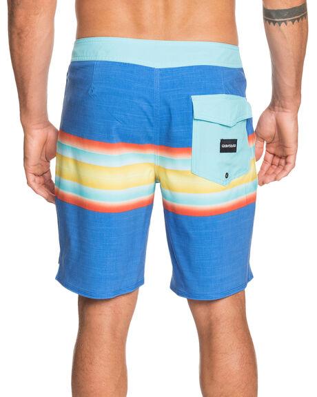NEBULAS BLUE MENS CLOTHING QUIKSILVER BOARDSHORTS - EQYBS04441-BQV6
