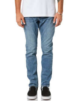 SLATE BLUE MENS CLOTHING VOLCOM JEANS - A1931603SLB