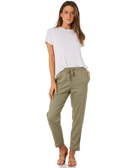 KHAKI WOMENS CLOTHING RIP CURL PANTS - GPADY10064