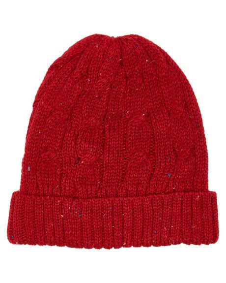 RED FLECK KIDS GIRLS FALLENBROKENSTREET HEADWEAR - KB94044RFLK