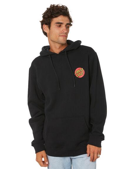 BLACK MENS CLOTHING SANTA CRUZ JUMPERS - SC-MFN0847BLACK