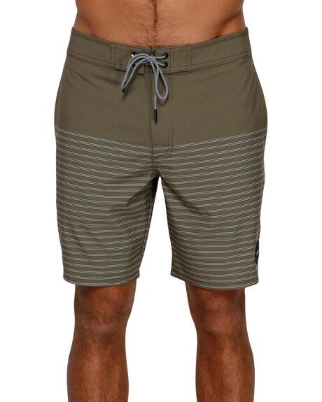 CADET GREEN MENS CLOTHING RVCA BOARDSHORTS - R383411CADGR