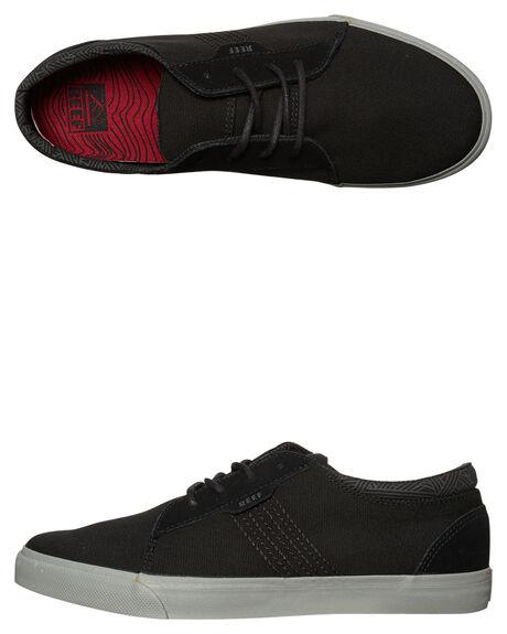 BLACK GREY MENS FOOTWEAR REEF SNEAKERS - 3314BLG