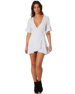 WHITE WOMENS CLOTHING MINKPINK DRESSES - MP1802474WHT